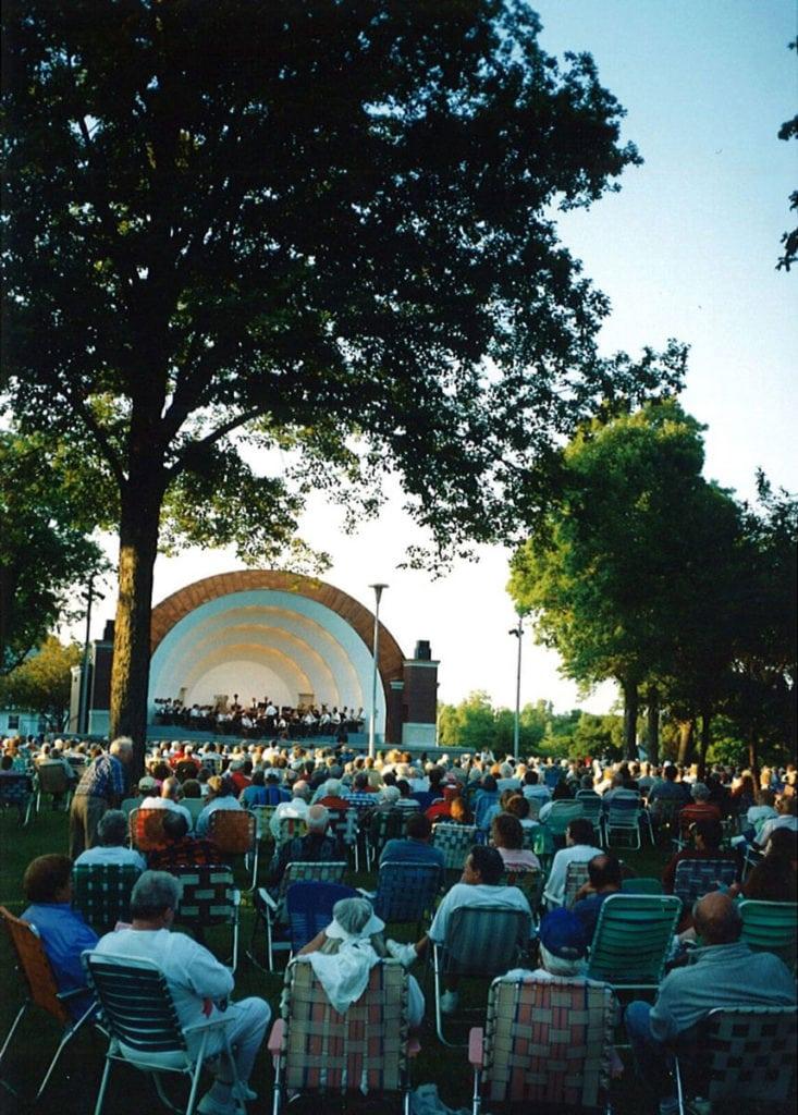 Overman Park Bandshell