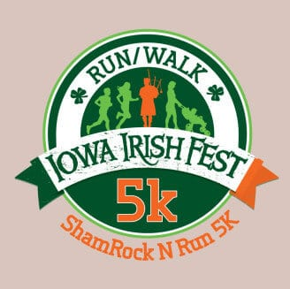 Iowa Irish Fest 5K logo